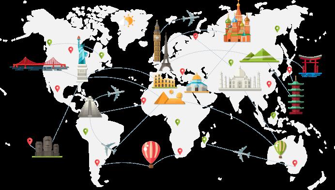 World Map Alinial EFE