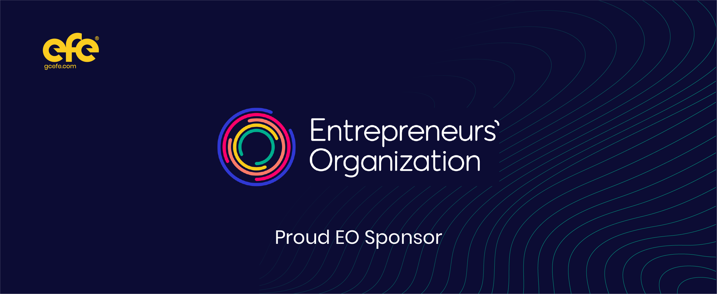 EFE™ is officially an EO Sponsor!