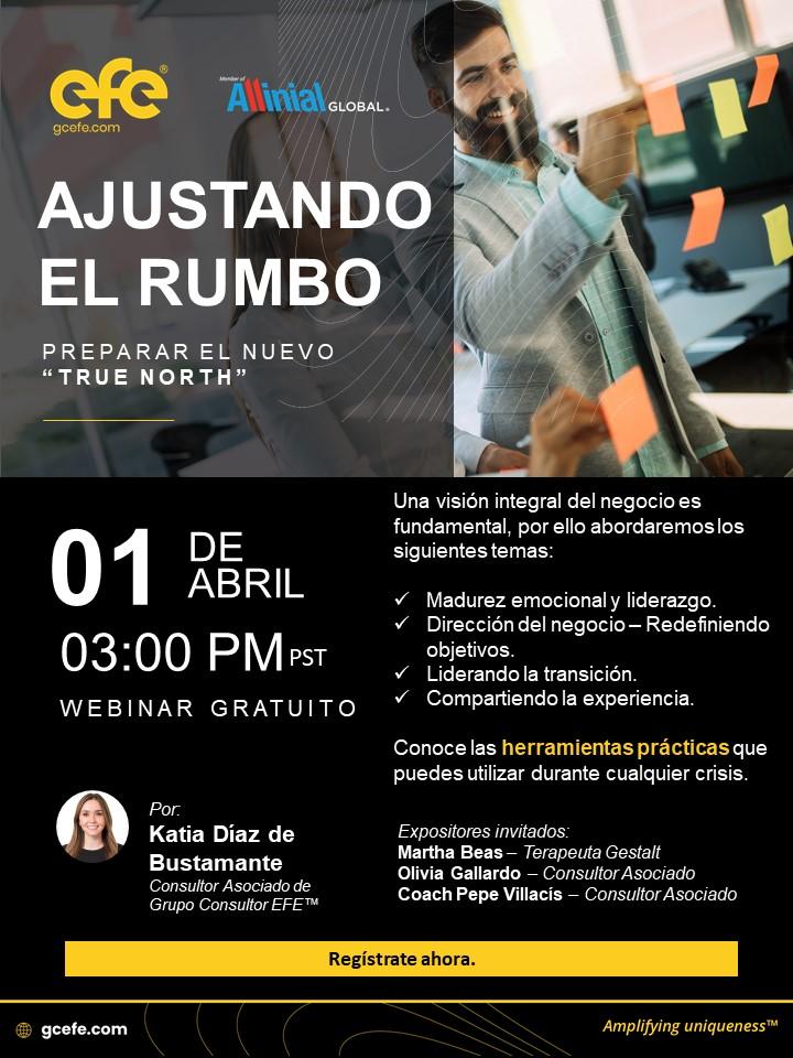 """Ajustando El Rumbo: Tomando El Control Hacia El Nuevo """"True North"""""""