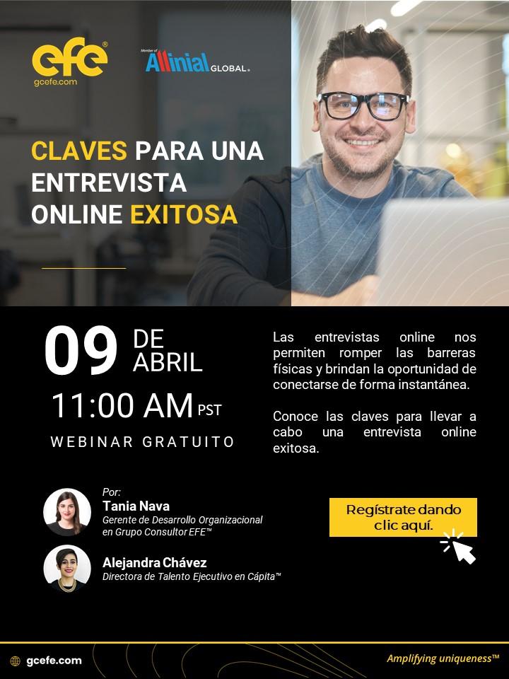 Claves Para Una Entrevista Online Exitosa
