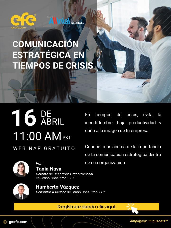 Comunicación Estratégica En Tiempos De Crisis