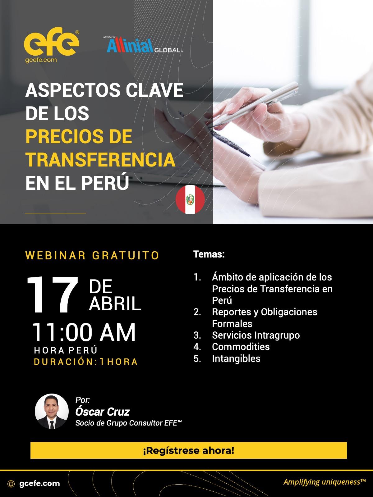 Aspectos Clave De Los Precios De Transferencia En El Perú