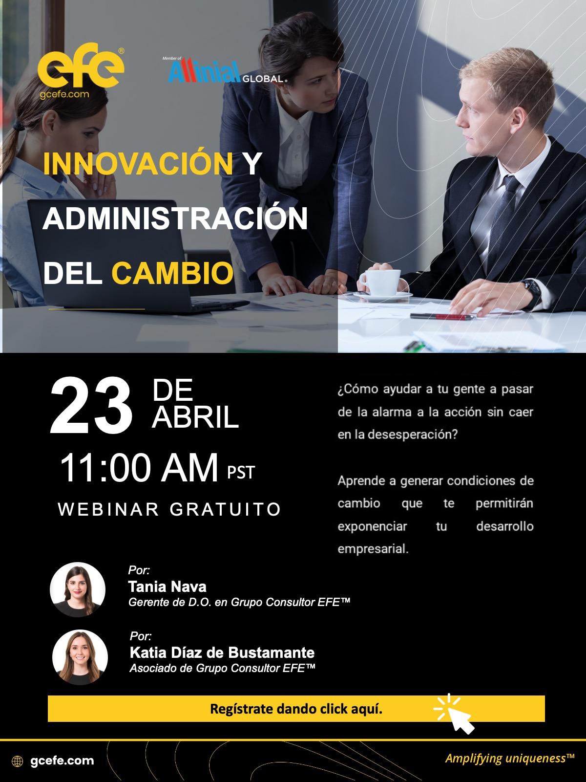Innovación Y Administración Del Cambio