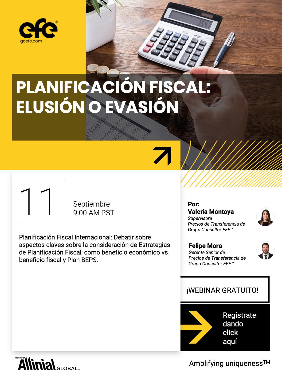 Planificación Fiscal: Elusión O Evasión