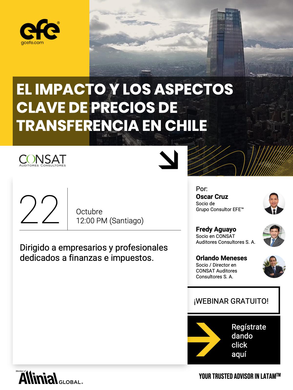El Impacto Y Los Aspectos Clave De Precios De Transferencia En Chile