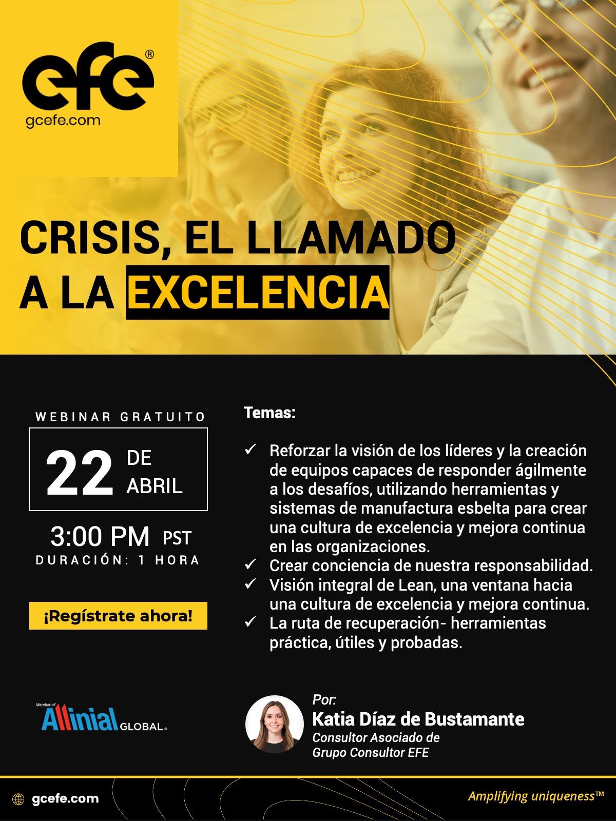 Crisis, El Llamado A La Excelencia.