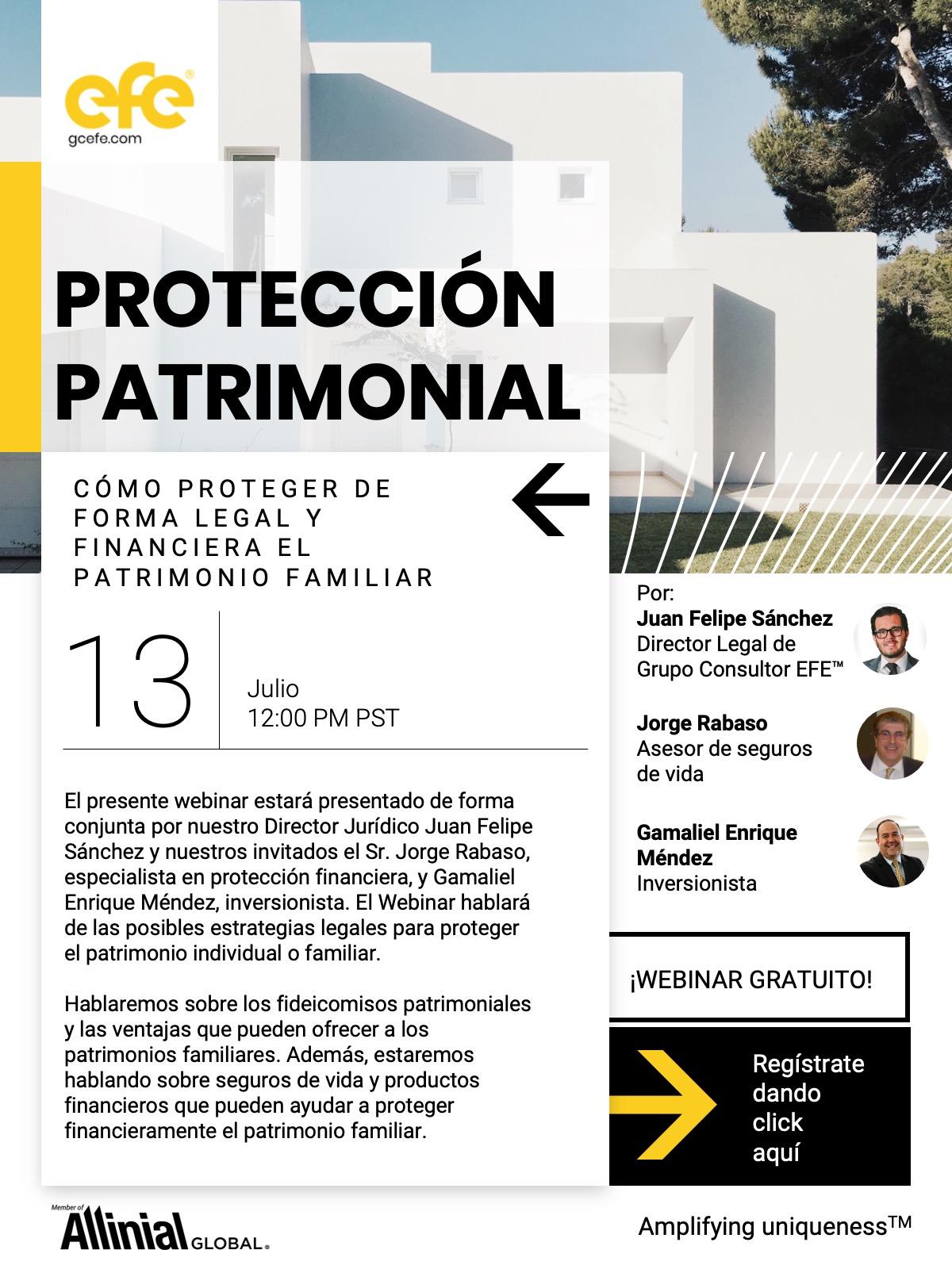 Protección Patrimonial: Cómo Proteger De Forma Legal Y Financiera El Patrimonio Familiar