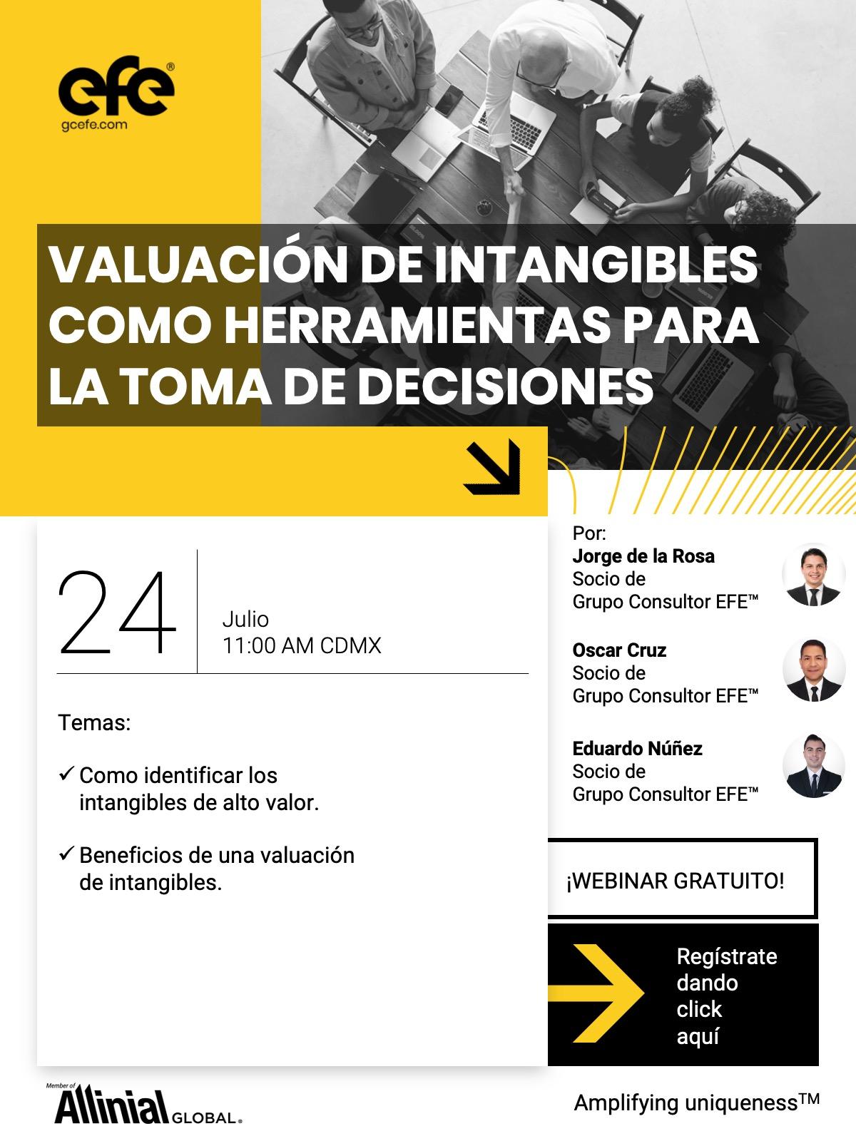 Valuación De Intangibles Como Herramienta Para La Toma De Decisiones.